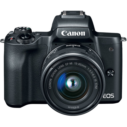Canon EOS M50 Kit lens 15-45 IS STM