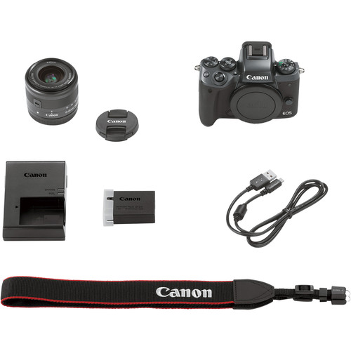 Canon EOS M5 Mirrorless Kit 15-45