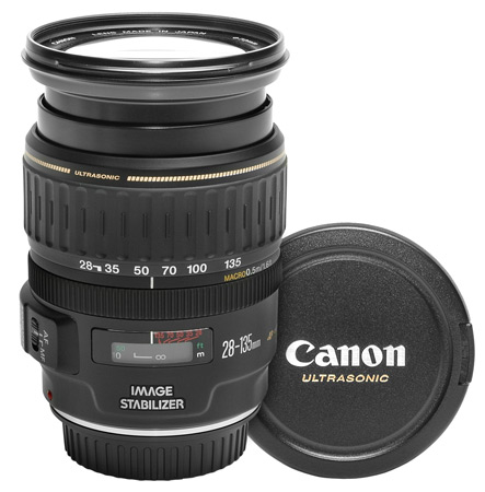 Canon Lens EF 28-135mm F/3.5 -5.6 IS USM