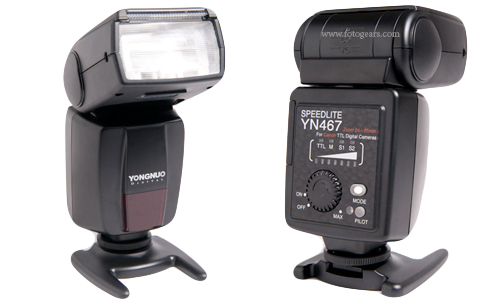 Yongnuo YN467-II TTL flash for NIkon