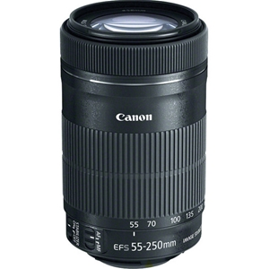 Canon Lens EF-S 55-250mm F/4-5.6 IS STM